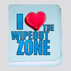 I Heart the Wipeout Zone Infant Blanket