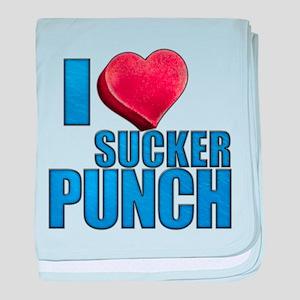 I Heart Sucker Punch Infant Blanket