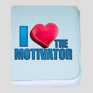 I Heart the Motivator Infant Blanket