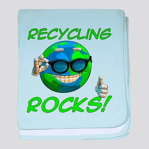 Recycling Rocks! Infant Blanket