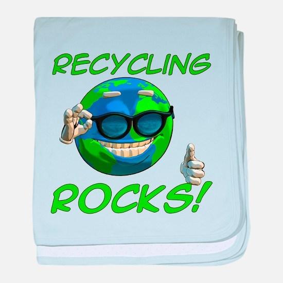 Recycling Rocks! Infant Blanket