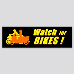 Watch for Bikes! (Bumper)