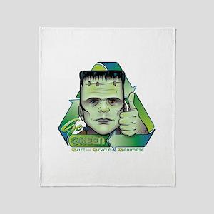 Go Green Throw Blanket