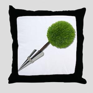 Formal Nature Presentation Throw Pillow