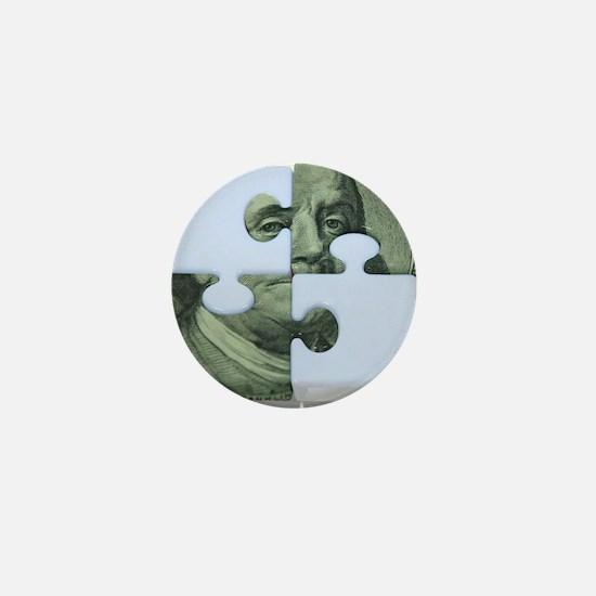 Money Puzzle Mini Button