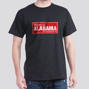 Welcome to Alabama Dark T-Shirt