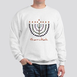 Chanukah Menorah Sweatshirt