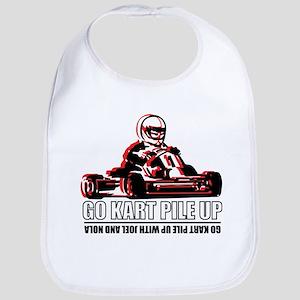 Go Kart Pile Up Bib
