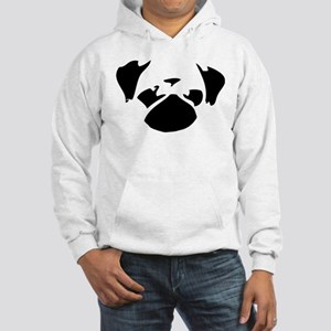 Cutie Pug Hooded Sweatshirt