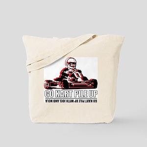 Go Kart Pile Up Tote Bag