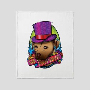 Sir Pootsalot Throw Blanket