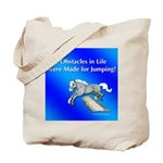 Jumping Pony Tote Bag