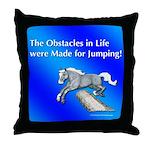 Jumping Pony Throw Pillow