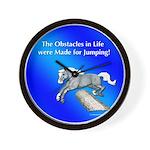 Jumping Pony Wall Clock