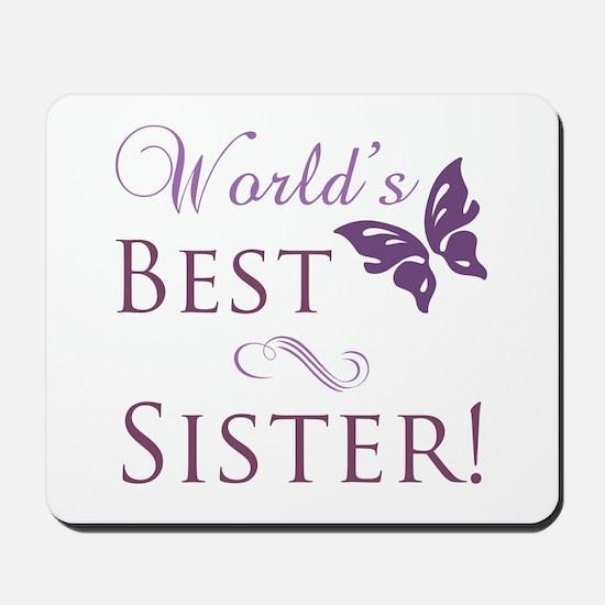 World's Best Sister Mousepad