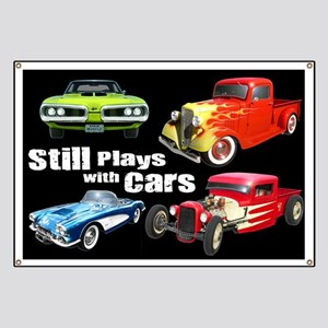 Still Plays With Cars Banner
