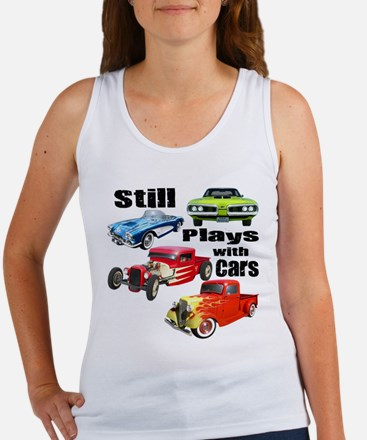 Still Plays With Cars Women's Tank Top