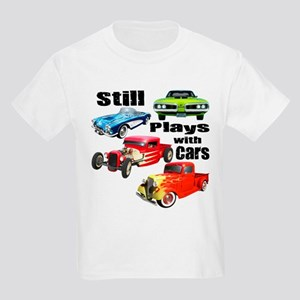 Still Plays With Cars Kids Light T-Shirt