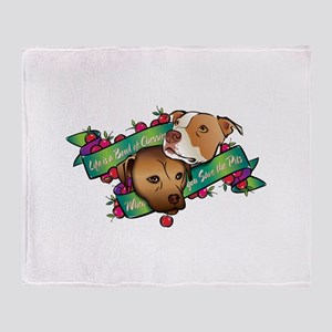 Life is a Bowl of Cherries... Throw Blanket