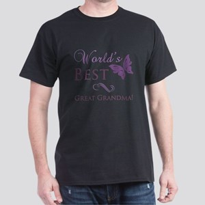 World's Best Great Grandma Dark T-Shirt