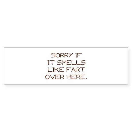 Sorry Sticker (Bumper)