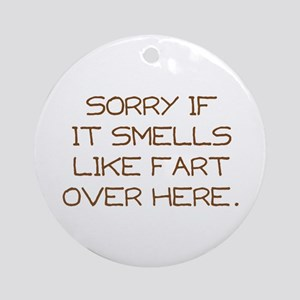 Sorry Ornament (Round)
