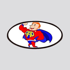 redhead super dad Patch
