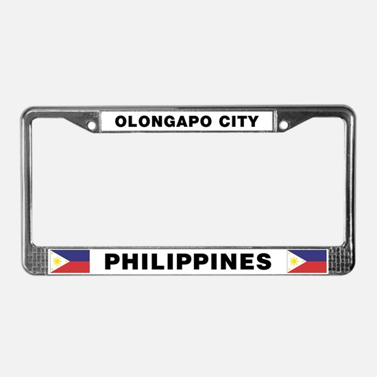 Olongapo City Philippines License Plate Frame