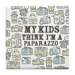 Paparazzo Tile Coaster