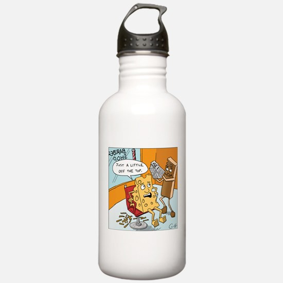 """""""Little off the Top"""" Water Bottle"""