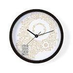 Believe in Crop Circles Wall Clock