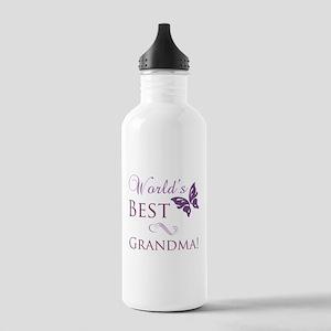 World's Best Grandma Stainless Water Bottle 1.0L