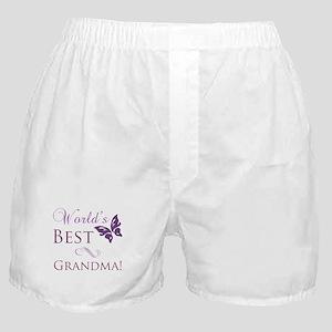 World's Best Grandma Boxer Shorts