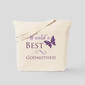 World's Best Godmother Tote Bag