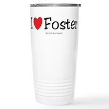 I Love Foster - custom I Hear Stainless Steel Trav