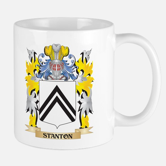 Stanton Family Crest - Coat of Arms Mugs