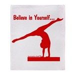 Gymnastics Blanket - Believe