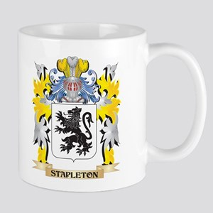 Stapleton Family Crest - Coat of Arms Mugs