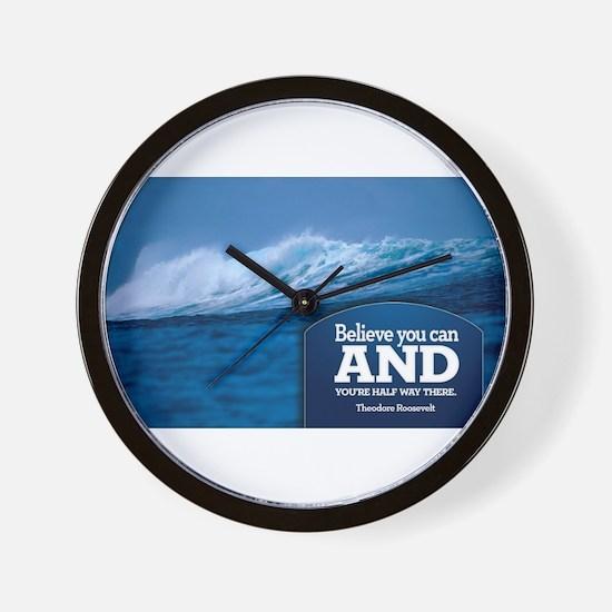 Unique Empowerment Wall Clock