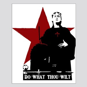 Crowley-Do What Thou Wilt Small Poster