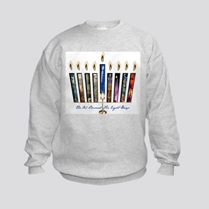 Chanukah Miracle Kids Sweatshirt