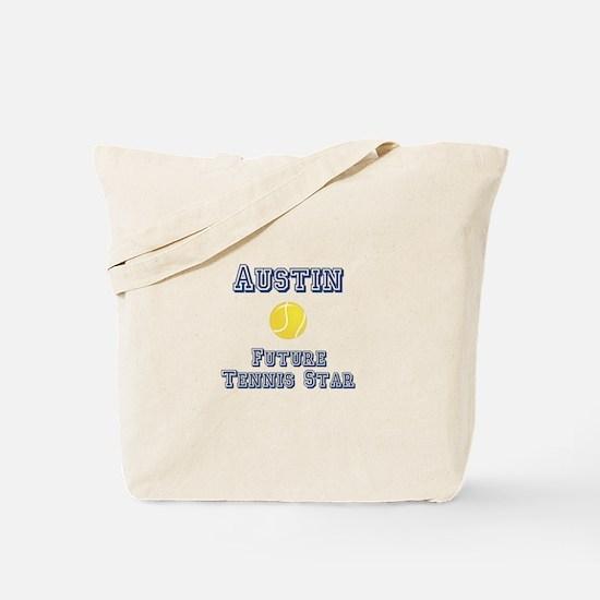 Austin - Future Tennis Star Tote Bag