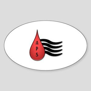 APSFA Alternate Logo Sticker (Oval)