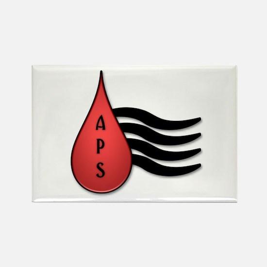 APSFA Alternate Logo Rectangle Magnet