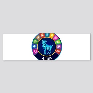 Aries Sign Sticker (Bumper)