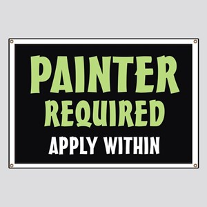 Painter required Banner