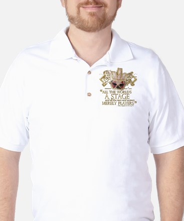 As You Like It Quote Golf Shirt