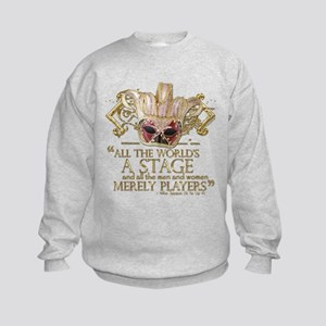 As You Like It Quote Kids Sweatshirt