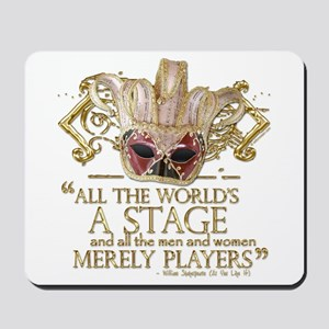 As You Like It Quote Mousepad