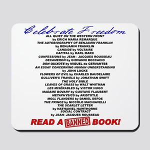 Read a Banned Book! Mousepad